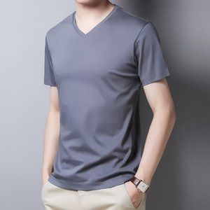 men's short-sleeved t-shirt QW